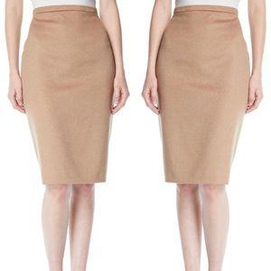 MaxMara Wool Pencil Skirt